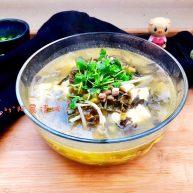 酸爽开胃,唤醒味蕾➕酸菜豆腐牛肉汤