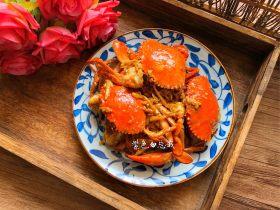 虾油焖肉蟹