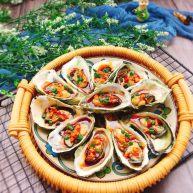 秋食+蒜蓉牡蛎