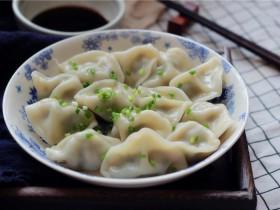 西芹猪肉饺子