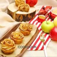 焦糖玫瑰千层苹果派