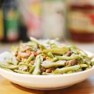 美食丨刀豆炒肉丝 妈妈的味道 家的味道
