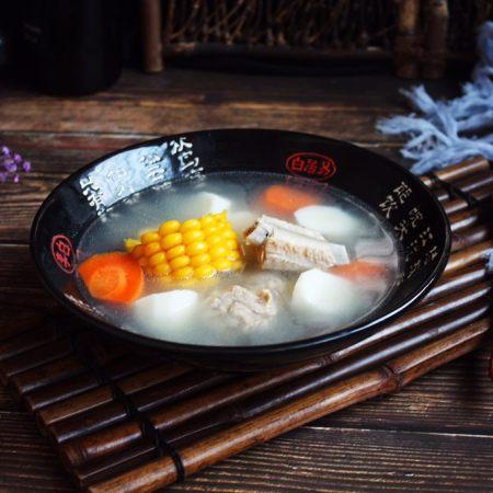 十味 健脾养胃 山药玉米排骨汤