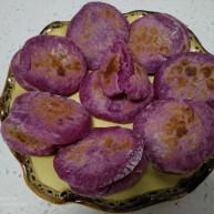 紫薯、酸奶、西红柿饼