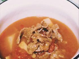 月子餐 當歸生姜牛肉湯