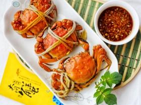 美食丨清蒸阳澄湖大闸蟹 用最简单的方法吃最鲜美的蟹
