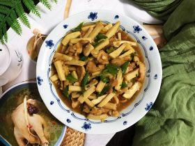 蚝油青椒肉片杏鲍菇