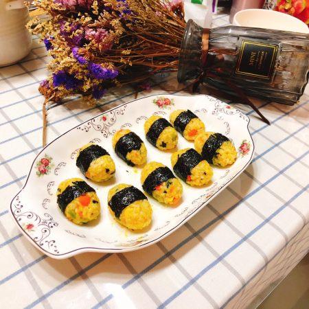 咖喱海苔什锦饭团