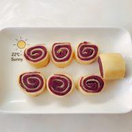 紫薯雞蛋卷