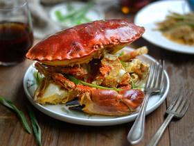 姜葱面包蟹