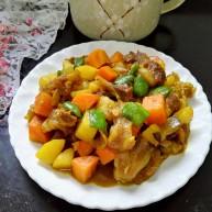 咖喱牛脆骨