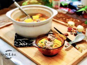 十味 浓淡红黄野岸花➕胡萝卜玉米排骨汤