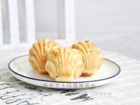 海苔芝士瑪德琳咸面包