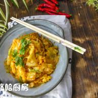 黄金卷心菜泡菜