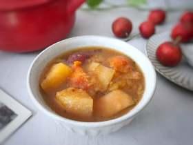 大枣山楂苹果汤