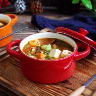 十味  海鲜(白蚬子)豆腐大酱汤