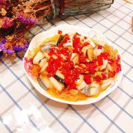 剁椒粉丝巴沙鱼-若是龙利鱼这么做也很好吃