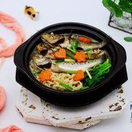 十味   海杂鱼荞麦面