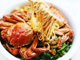 美食丨螃蟹烩面 吃到连一滴汤都不浪费~