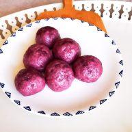 宝宝健康食谱   紫薯豆沙包