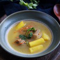 山药虫草菇鸭汤