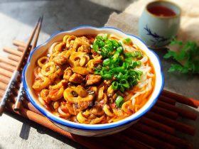 竹笋酸菜牛肉米线
