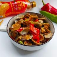 辣椒炒花蛤