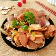 蚝油炒黄蚬子
