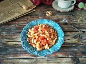 番茄肉沫通心粉