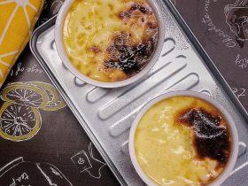 消耗淡奶油之烤法式布丁