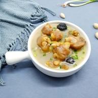 冬季暖身汤《白果炖羊蹄》