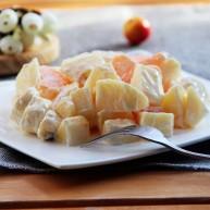 芝士酸奶水果沙拉