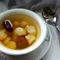 百变水果  荸荠红枣白果水