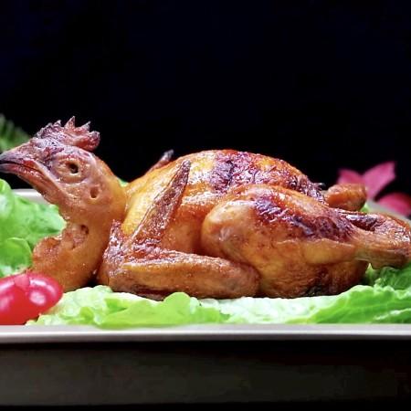 预热感恩节~这样烤出来的鸡实在太好吃了!