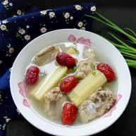 百变水果  甘蔗红枣排骨汤