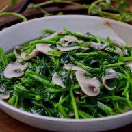 蘑菇西洋菜