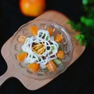 百变水果  巧克力麦片桔子沙拉