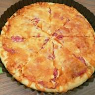 新文美食  自制烤箱板披薩