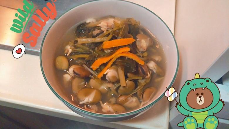 老少通吃一颗灿烂的⭐——咸菜烤粉芽豆