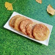 萝卜虾皮鸡蛋饼
