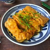 豆腐皮包肉