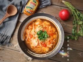 金针菇番茄龙利鱼