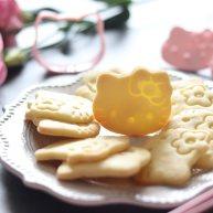 卡通小饼干,制作简单,萌趣造型合适亲子烘焙