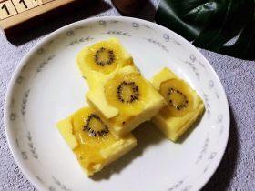 酸奶猕猴桃蒸蛋糕