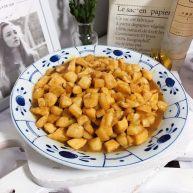 蚝油仙贝杏鲍菇炒鸡丁
