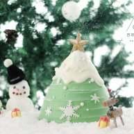 圣诞树枫糖戚风