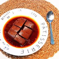 红油猪血豆腐