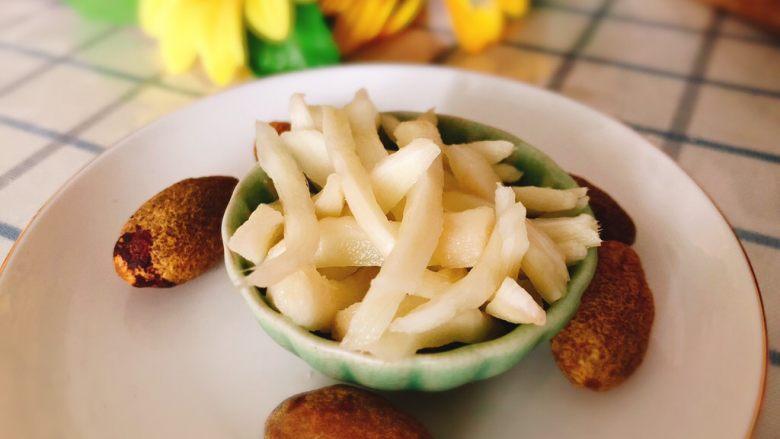 醋腌嫩生姜-可做早餐稀饭配菜