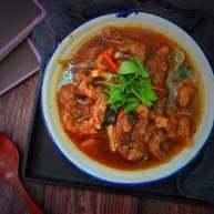 酸辣酥肉汤