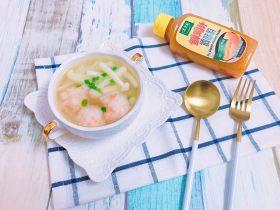 虾滑菌菇汤